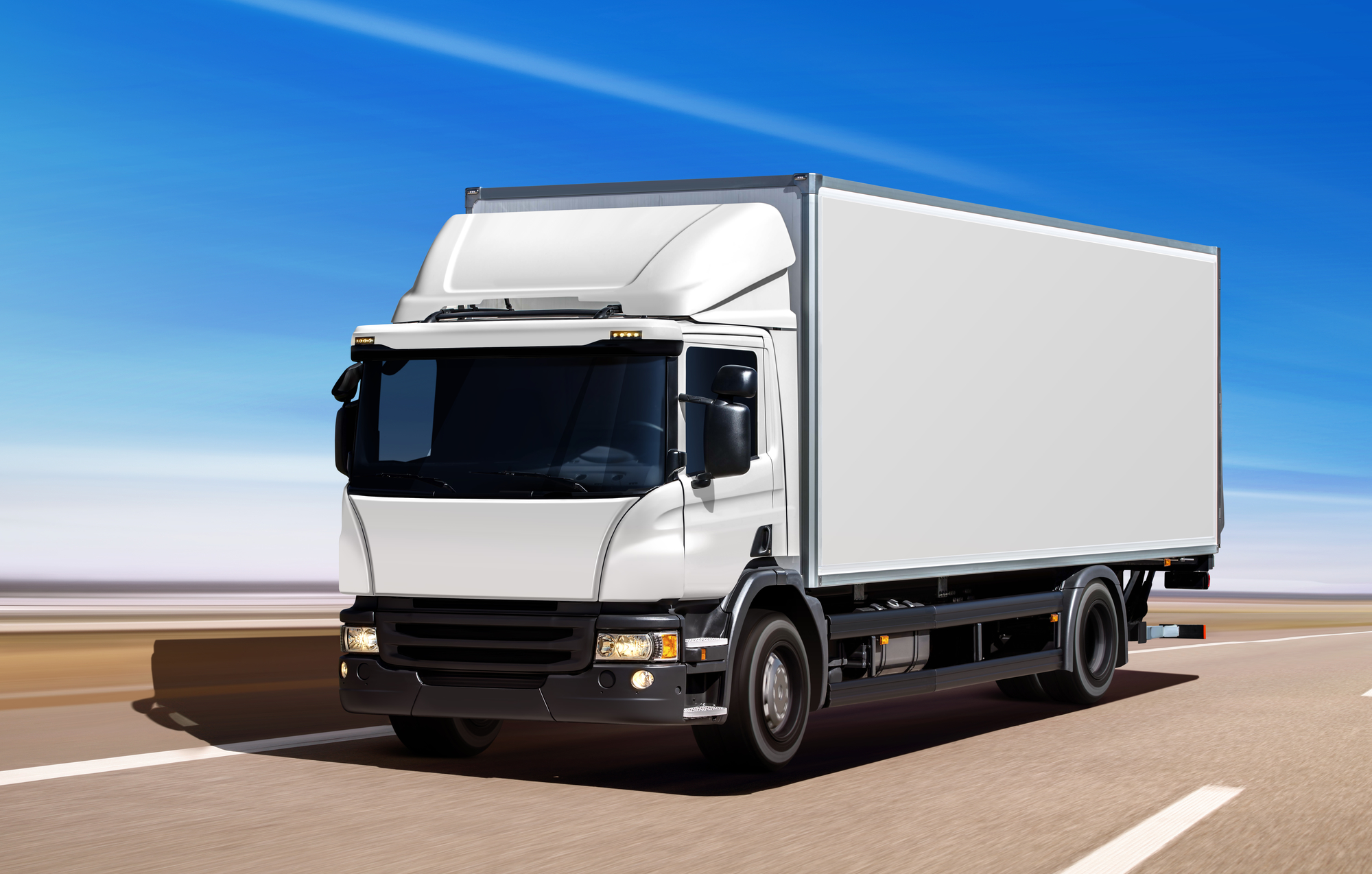 משאית חלוקה עירונית